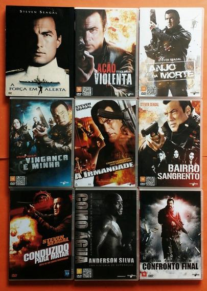 Dvd Steven Seagal Coleção Contendo 46 Filmes