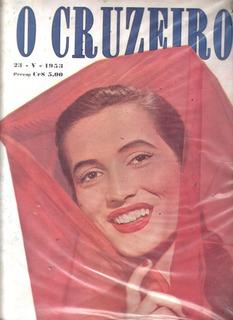 O Cruzeiro 1953.doris.saõ Jose Dos Campos.porto Alegre.maste