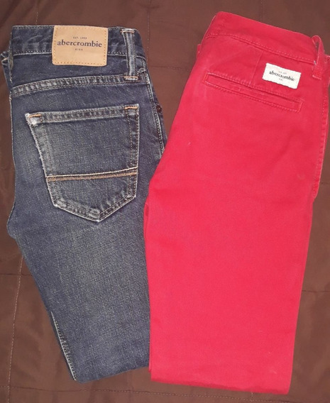Paquete De 2 Pantalones Niño Abercrombie Kids