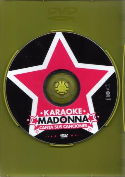 Madonna ( Karaoke Madonna Canta Sus Canciones ) Dvd Original