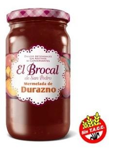 Mermelada Sin T.a.c.c. El Brocal Durazno 420g. - Envíos