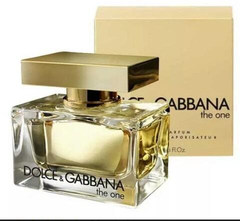 Perfume The One Feminino 75ml Dolce & Gabbana 100% Original