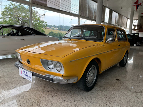 Imagem 1 de 9 de Volkswagen Variant 1600 Gasolina Amarela 1973