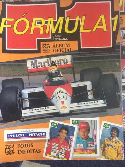 Álbum De Figurinhas Fórmula 1 (1989) 100% Completo