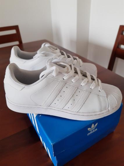 Superstar Blancas Igual A Nuevas!
