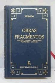 Imagen 1 de 2 de Teogonia Hesiodo Trabajos Y Dias Edit Gredos