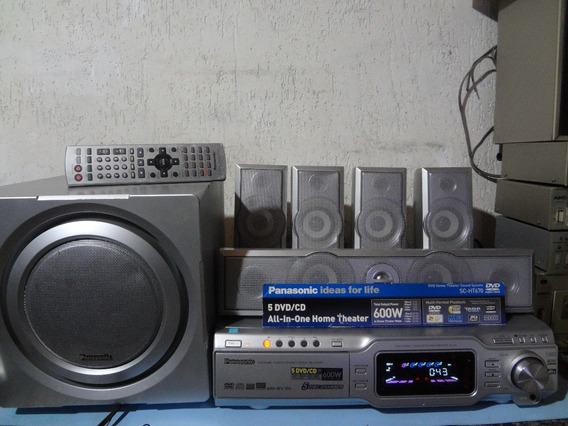 Receiver Home Theater Panasonic Sa - Ht 670