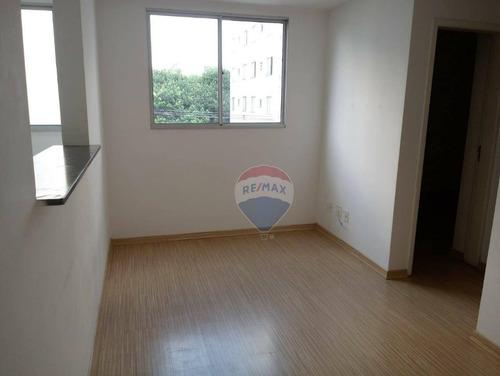 Apartamento Com 2 Dormitórios À Venda, 43 M² Por R$ 228.000,00 - Vila Rio - Guarulhos/sp - Ap0003