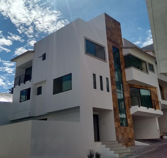 Preciosa Casa En Condominio En Venta O Renta En San Jerónimo