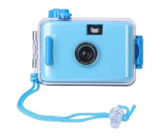 Maquina Fotográfica Antiga Analógica Câmera Prova De Água