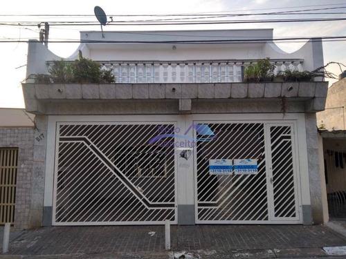Sobrado Com 3 Dormitórios À Venda, 250 M² Por R$ 495.000,00 - Vila Antonieta - São Paulo/sp - So0020