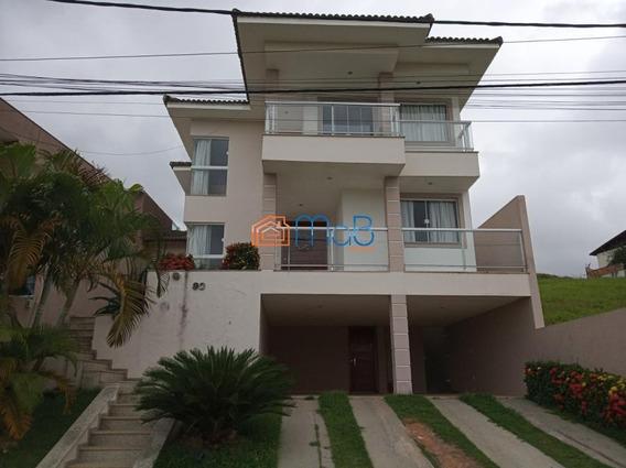 Casa Com 317m², 4 Suítes, Piscina E Churrasqueira No Vale Dos Cristais - Ca0105