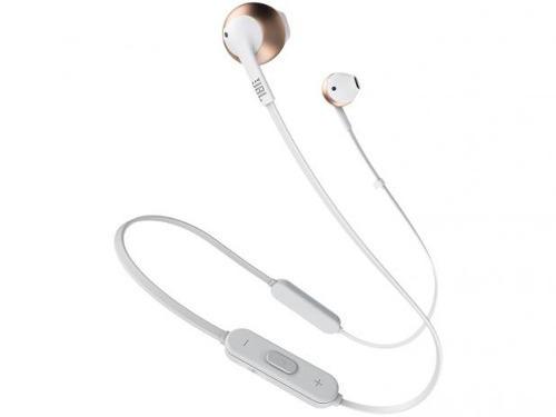 Fone De Ouvido Bluetooth Jbl Tune 205 Bt Rose/gold N. Fiscal