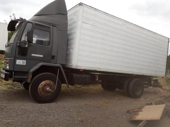 Caminhao Ford Cargo 1618 Toco Baú De Aluminio 6,50 Metros