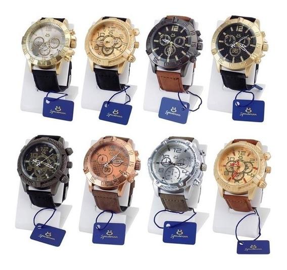 Kit 10 Relógio Masculino Original Atacado Revenda Liquidação