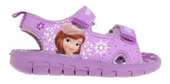 Sandalias Addnice Disney Sofia Niños Con Luces Fty Calzados