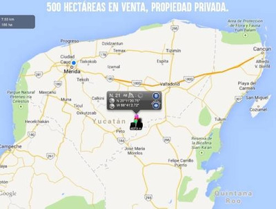 300 Hectáreas En Oxkutzcab Para Proyectos Eco Turístico O Eólico