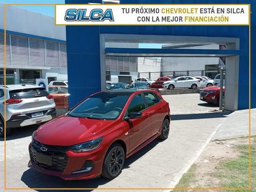 Chevrolet Onix Rs 2021 Rojo 0km