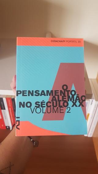 Cosac Naify: O Pensamento Alemão No Século Xxi - 3 Volumes
