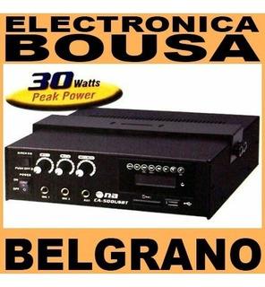 Potencia Musica Funcional Na Ca-500-usbt Amplificador Usb/bt