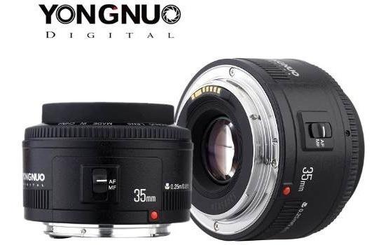Lente Yongnuo Grande Angular 35mm 2.0 Casamento Formatura