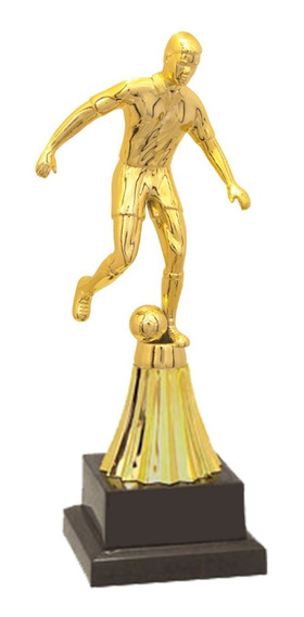 Trofeu De Campeão Futebol Jogador Futsal Society 22 Cm