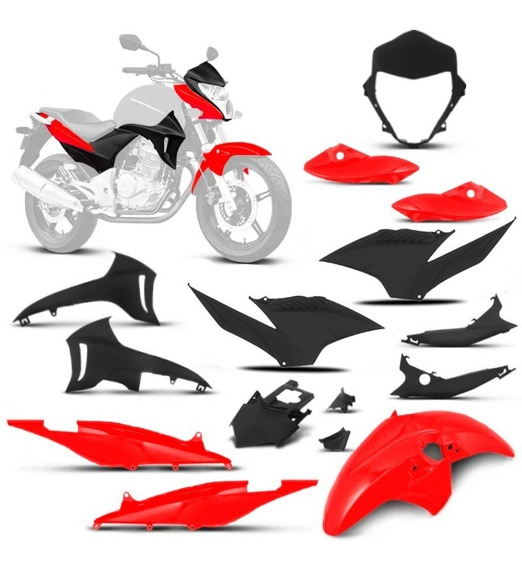 Kit Carenagem Completa Honda Cb 300 R 2010 2011 2012 Tork