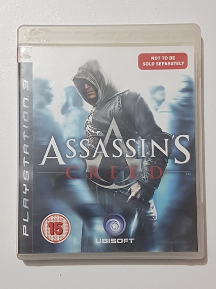 Assassins Creed Mídia Mídia Física Original P/ Playstation 3