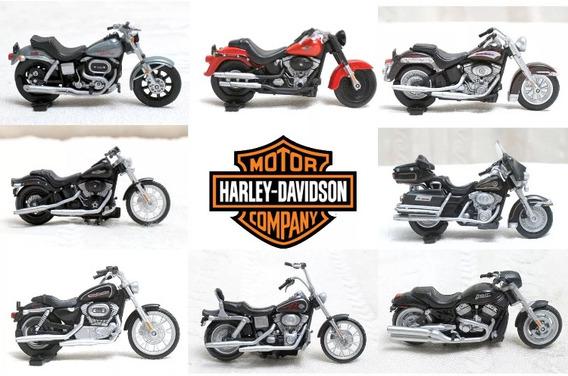Moto Harley Davidson 1:43 Unidade Escolha O Modelo