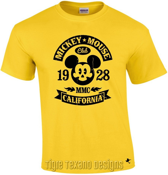 Playera Dibujo Animado Mickey Mouse M.2 Tigre Texano Designs