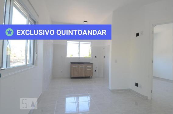 Apartamento No 1º Andar Com 1 Dormitório - Id: 892987198 - 287198