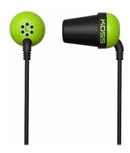 Fone De Ouvido Koss The Plug In Ear Classic - Verde