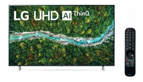 Imagen 1 de 3 de Tv LG Uhd 50  4k Smart Thinq Ai 50up7750psb (2021)