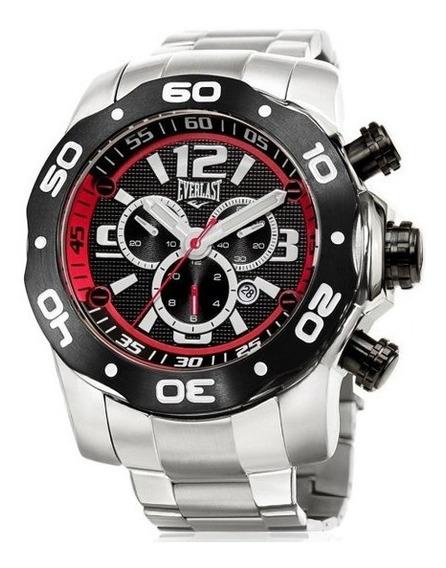 Relógio Cronografo Everlast E596 Prata