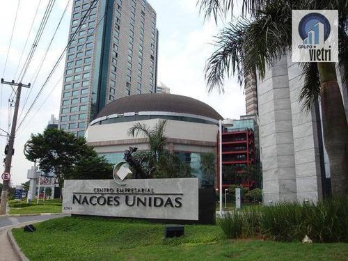 Laje Para Alugar, 661 M² Por R$ 42.965/mês - Brooklin Paulista - São Paulo/sp - Lj0002