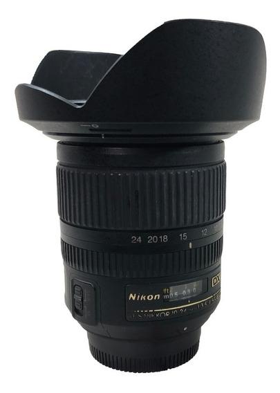 Lente Nikon 10-24mm F/3.5-4.5g Ed Usada C/ Garantia