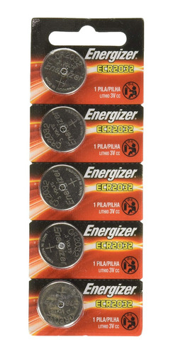 Bateria Moeda Cr2032 Energizer Lithium Cartela 5un A Melhor