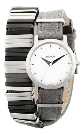 Reloj Nixon Wrap Mujer Gris