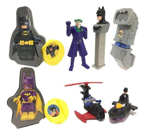 Batman Juguetes X 7 Mc Donald's Para Torta / Jugar 11 Cm