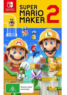 Super Mario Maker 2 Nintendo Switch Nuevo Original