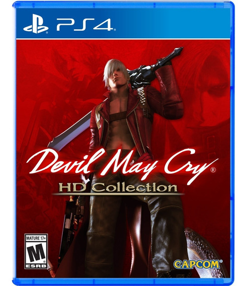 Devil May Cry Hd Collection Ps4 Midia Fisica Novo Lacrado