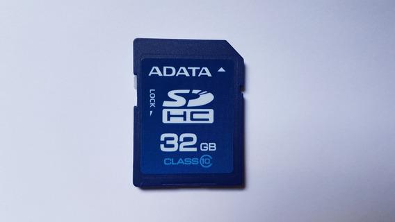 Cartão De Memoria Adata 32gb Sdhc Memory Card