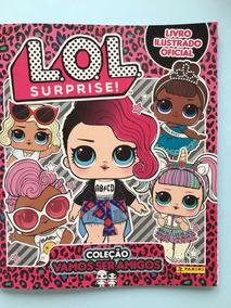 Lol Surprise 2, Kit Com Album + 102 Figurinhas Sem Repetição