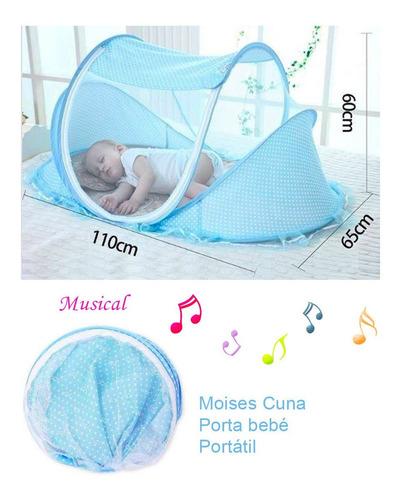 Mosquitero Música Para Bebés 110x60cm