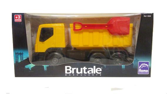 Carrinho Brutale Basculante Com Pa - Amarelo