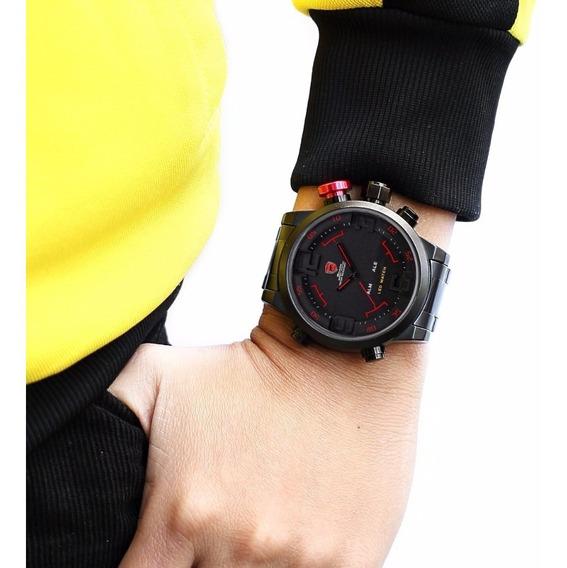 Relógio Shark Original Esportivo Masculino C/estojo Promoção