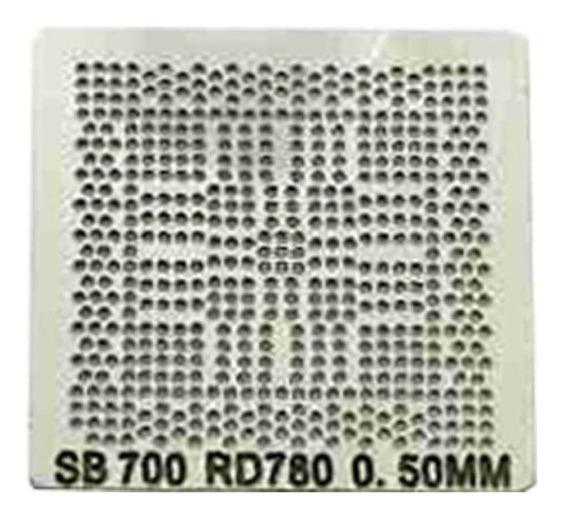 Stencil Calor Direto Ati Sb700 Amd Rd780 0,50mm Reballing