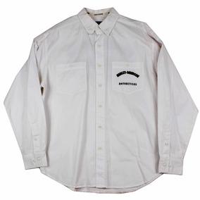 Camisa Harley Davidson Ls Blanca Para Hombre Talla L