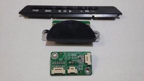 Teclado Sensor Power Tv Toshiba Le4050(a)   Kit
