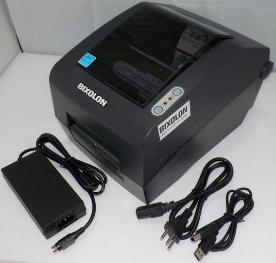 Impressora Térmica De Etiquetas Bixolon Slp-t400 Usb Qr Code